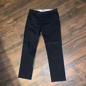 Dockers men's pants 31/30 black slim fit